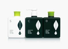 Packaging design for 'Kotoha' Hair & Body Care by T-Square Design Associates