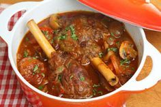 Best lamb shank recipes - trying this tonight. Super amazing! Just as good as the Serbian restaurant we used to go to!