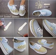 DIY shoes.. Must try it!