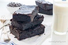 Vegan Fudgy Black Bean Brownies