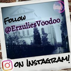If you love everything Voodoo, spiritual, quirky and New Orleans, follow us on Instagram...for more up close and personal happenings in our mystical city! #NewOrleans, #NewOrleansVoodoo, #FrenchQuarter, #BigEasy, #Spiritual, #Haunted, #Inspiration, #Family, #NOLATilYaDie, #NOLA, #JoinUs, #FollowBack, #Love, #Friends