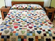 Patchwork Quilt Patterns Free Hexagon Patchwork Quilt Patterns Pinterest Hearts And Nine Patch Quilt Exquisite Made With Care Amish Quilts From Lancaster Free Quilt Patterns Using Fat Quarters