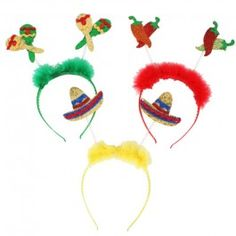 Mexican Head Bopper for for your Mexican Fiesta themed night and fun fancy dress