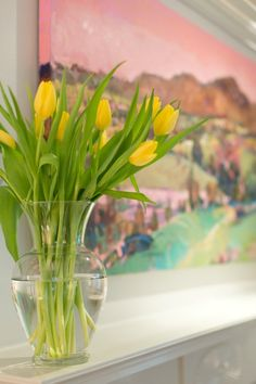 Yellow Tulips - 5 th