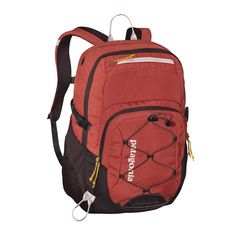 Our largest daypack: the Patagonia Chacabuco Pack 32L features multiple compartments, a padded sleeve that holds most 17˝ laptops, and plenty of pockets.