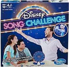 Disney Song Challenge boardgame for the whole family by Hasbro Games | Sing songs from Disney movies and TV shows Fumble on a song and spin the Wheel of Fun-sequences, ideal gift for Disney fans #disney #boardgame #afflink #games #songs