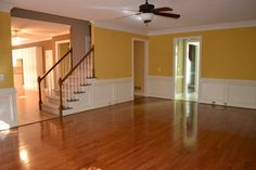 Before: what to do with this large family room?