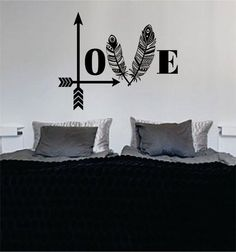 Love The latest in home decorating. Beautiful wall vinyl decals, that are simple to apply, are a great accent piece for any room, come in an array of colors, and are a cheap alternative to a custom pa