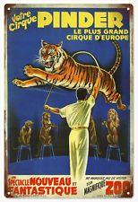 Pinder Grand Circus Of Europe Nostalgic Reproduction Metal Sign