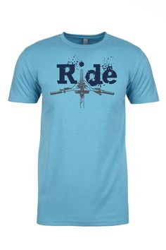 We are all about Mountain biking and further more we are all about sweet Mountain Bike T shirts. This shirt speaks to a life spent behind bars, handle bars that is. When you where this shirt you take