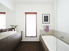 Seville bathroom by Boutique Homes Walk In Robe, Boutique Homes, 4 Bedroom House, Master Plan, Beautiful Bathrooms, Corner Bathtub, New Homes, House Design, Robe