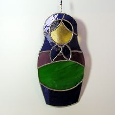 Matryoshka Doll stained glass