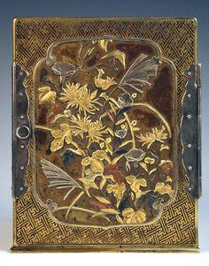 A Japanese damascened and shibuichi cased miniature cabinet (kodansu), early Meiji period