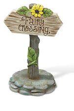 фея Crossing Enchanted Garden знак миниатюрный