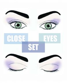 Beauty school: The proper shadow application for your eye shape. #closeseteyes www.ddgdaily.com