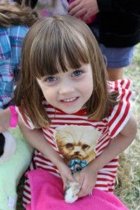 Meet Ash, age 5.  Ash loves to attend KIP events to raise money and help other kids.