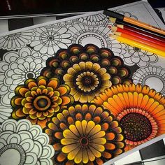 Picture result for coloring book garden of flowers Secret Garden Coloring Book, Coloring Book Art, Coloring Tips, Doodle Coloring, Colouring Pages, Adult Coloring, Johanna Basford Secret Garden, Johanna Basford Coloring Book, Colored Pencil Techniques