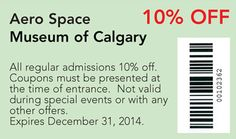 Aero Space coupon Special Events, Coupons, Activities, Space, Floor Space, Coupon, Spaces