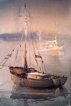 Far from Brittany but beautiful. Dusan Djukaric #watercolour #painting #watercolour_paper