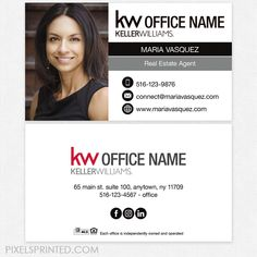 Realtor Business Cards, Company Business Cards, Real Estate Business Cards, Real Estate Flyers, Unique Business Cards, Real Estate Tips, Business Photos, Real Estate Companies, Real Estate Marketing