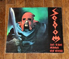 Sodom ‎– In The Sign Of Evil LP Vinyl FACTORY SEALED FREE SHIPPING IN U.S.A