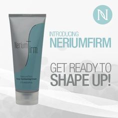 New Nerium Firm Body Contouring cream  WOULD YOU like to make your body to reflect your YOUTHFUL SPIRIT? Then you want #Nerium's body-contouring product, NeriumFirm! CLICK HERE now to start getting results http://yourrealresults.arealbreakthrough.com or TEXT CINDY 330-635-1228 to be one of the FIRST