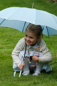 Princess Estelle of Sweden attends the 38th Birthday celebrations of Crown Princess Victoria of Sweden on July 14, 2015 in Oland, Sweden
