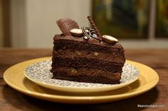 Dessert Cake Recipes, Vegan Kitchen, Chocolate, Homemade Cakes, Something Sweet, Confectionery, Vegan Desserts, Food And Drink, Cooking Recipes
