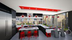 Modern kitchen - Modern - Kitchen - by Modern Kitchen Design, Modern Design, Mixing Bowls, Bed, Table, Room, Furniture, Home Decor, Serving Bowls