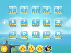 Angry Birds Rio Bonus Levels and Power Ups