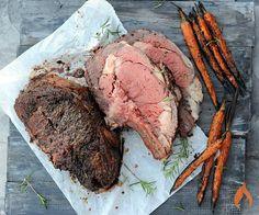 Grilled Prime Rib Roast