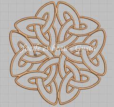 Keltischer großer Knoten von facileetbeaugusta auf Etsy