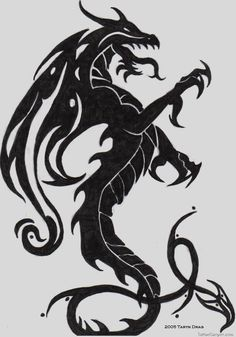Dragon Tattoo Design By Tigeress08 On Deviantart picture 2943