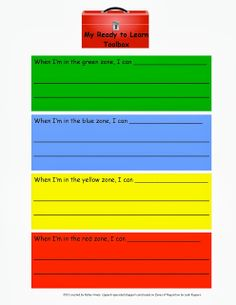 The Dynamic Duo zones of regulation