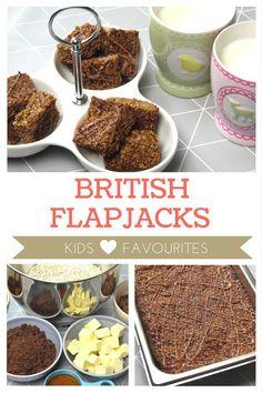 British Flapjacks Recipe - Kids Favourites!