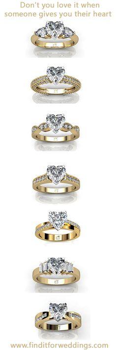 https://www.bkgjewelry.com/sapphire-pin-brooch/974-14k-yellow-gold-diamond-blue-sapphire-bee-brooch.html Heart shaped diamond engagement rings. www.finditforweddings.com