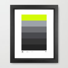 darknatureclothing:    Sneaker inspired Art by Minimal Sneaker Project. Feeling the Dave White colour way inspiration on this. One other piece i'll be buying for the new home.