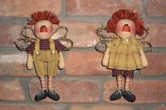Rustic Raggedy Angels Pattern