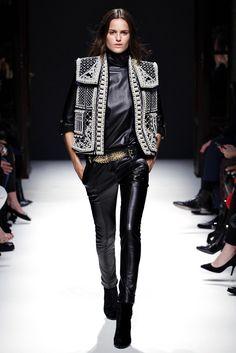 Balmain Autumn Winter 2012-2013 - AW12 - Pearled rigid jacket