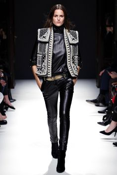 Balmain Autumn Winter 2012-2013 - AW12 - Pearled rigid jacket