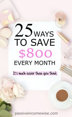 In this post there over 25 different ways to save money each month. If you do all of the below, you may be able to save hundreds or thousands of dollars each year. Remember, little savings can add up to be a lot!