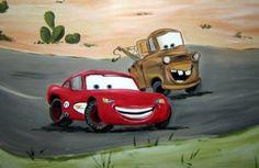 pixar-car-mural-car-truck