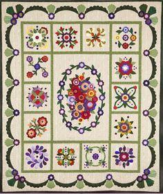 Image result for applique quilt sashing