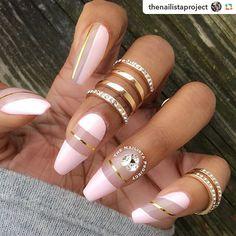 by @thenailistaproject:Takin' it easy w/ #flossgloss #naillacquer in 'Baby Baby' . ▶️#negativespacenails #longnails #naildesign #nailsonpoint #nailart #nailartclub #nailartoohlala #nailsoftheday #nailsonfleek #instanails #frenchombre #ombrenails #nudenails #fashion #bridalnails#weddingnails#أظافر #nails#wedding#nudenails #swarovski #babyboomer #lo