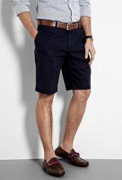 Polo Ralph Lauren navy cotton chino preston shorts