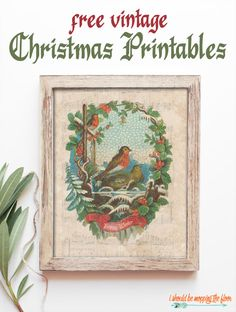 Free vintage Christmas printables in two nostalgic designs Multiple formats and formats available. Dollar Store Christmas, Christmas Truck, Old Christmas, Christmas Ideas, Vintage Christmas Crafts, Christmas Nativity, Victorian Christmas, Vintage Ornaments, Navidad