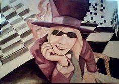 Tom Petty Portrait by SydneysDoodles on DeviantArt Halloween Rocks, Tom Petty, Canvas Prints, Art Prints, Photo Canvas, Toms, Things To Come, Deviantart, Laptop Skin