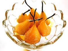 Inkokta päron med stjärnanis (kock Lisa Lemke)