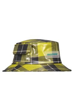 DAILY PAPER Yellow Checkered Bucket Hat - SHOP NOW at SEASON 7 – Season 7 Paper Logo, Daily Papers, Hat Shop, Waist Pack, Product Label, Season 7, Brand It, Dumplings, Hand Warmers