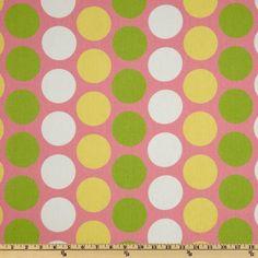 7$ 5.5 E Premier Prints, Decoration, Baby Baby, Pink, Dots, Nursery, Baby Shower, Fancy, Medium